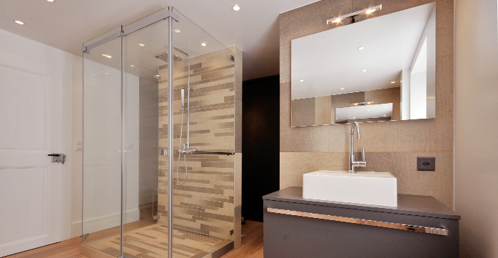 Architecte d 39 int rieur am nagement for Salle de bain architecte
